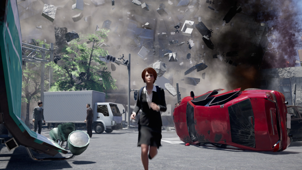 Disaster Report 4: Summer Memories - collapse