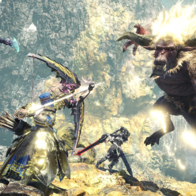 Monster Hunter World: Iceborne - Furious Rajang fight