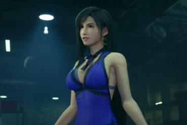Final Fantasy VII - Tifa dressed up