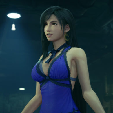 Final Fantasy VII - Tifa dressed up