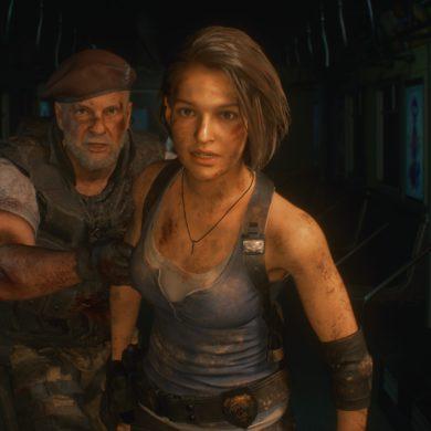 Resident Evil 3 - Jill and Mikhail