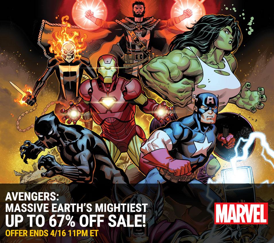 Avengers Digital Sale