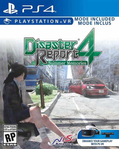 Disaster Report 4: Summer Memories - PS4 packshot