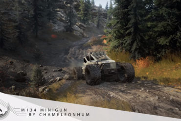 SnowRunner - M134 Minigun