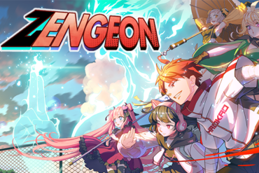 Zengeon - logo and key art