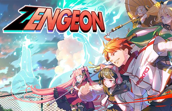 Zengeon - logo and key art