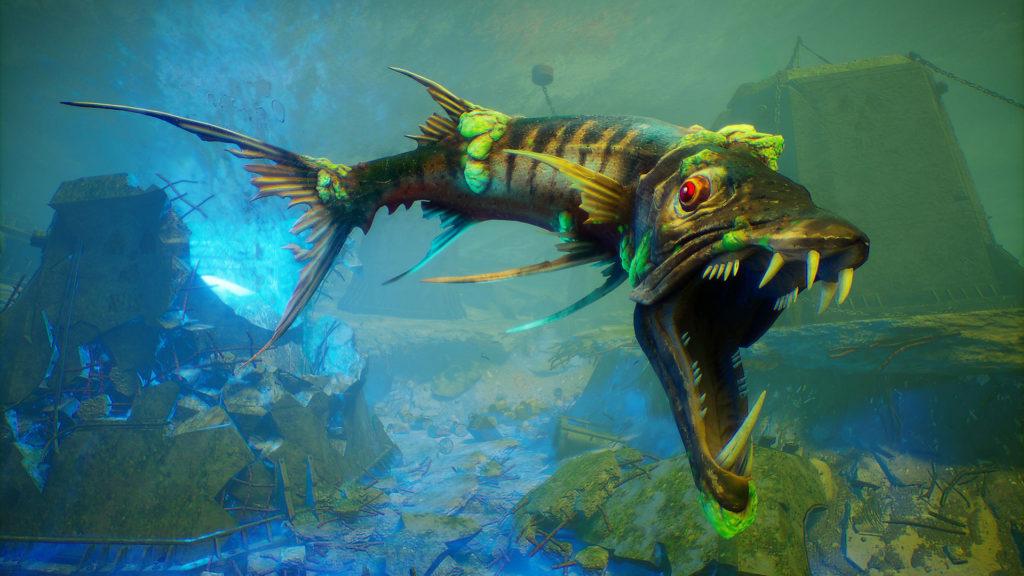 Maneater The Apex Barracuda