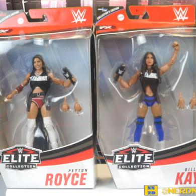 The Iiconics Billie Kay Peyton Royce WWE Elite Figure Review 00 03 06
