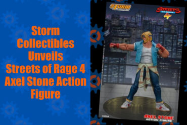 Axel Stone Storm Collectibles Feature
