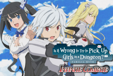 Is It Wrong To Try To Pick Up Girls In A Dungeon? - Infinite Combate = cover art