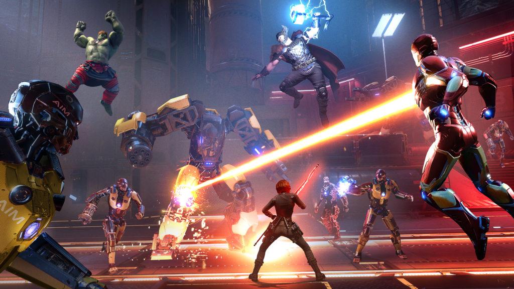 Marvel's Avengers - team battle