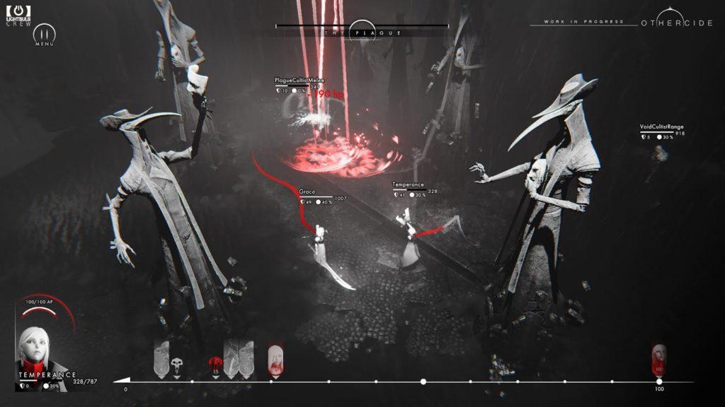 Othercide - battlefield