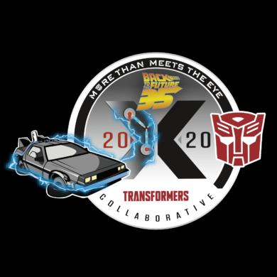 BTTF X TRA Collab logo
