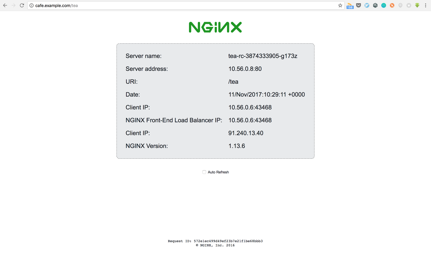 Nginx Ingress Controller