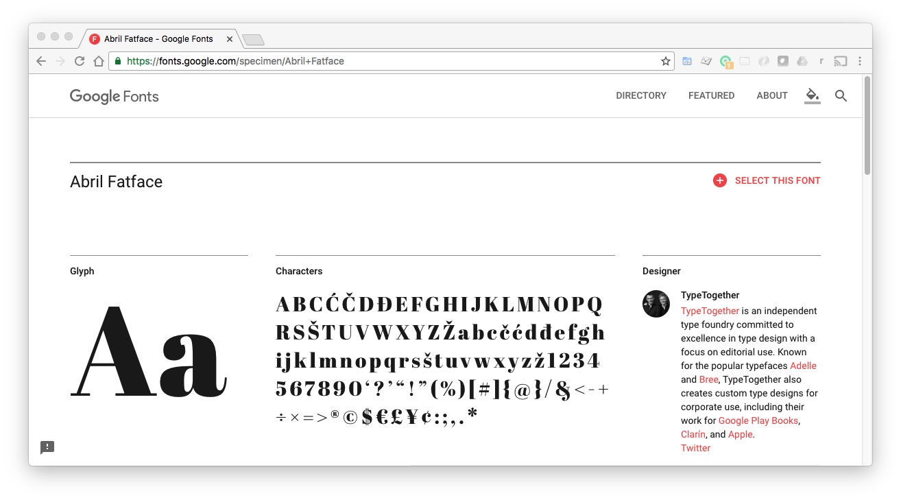 Top 10 Fonts for Modern Web Applications