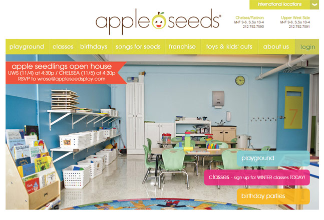 Apple Seeds Ruby on Rails technology