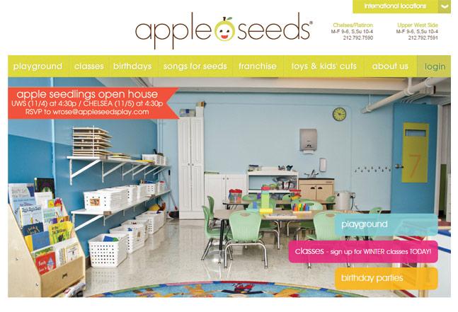 Apple Seeds Ruby on Rails technology
