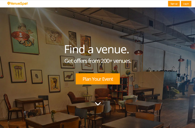 Find your venue | online tool