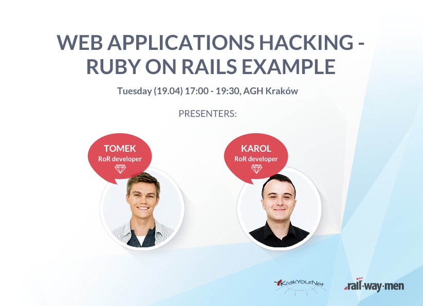 KrakYourNet7 and Railwaymen – Join our Free Ruby on Rails Workshop!