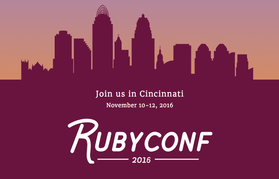 ruby conf 2016