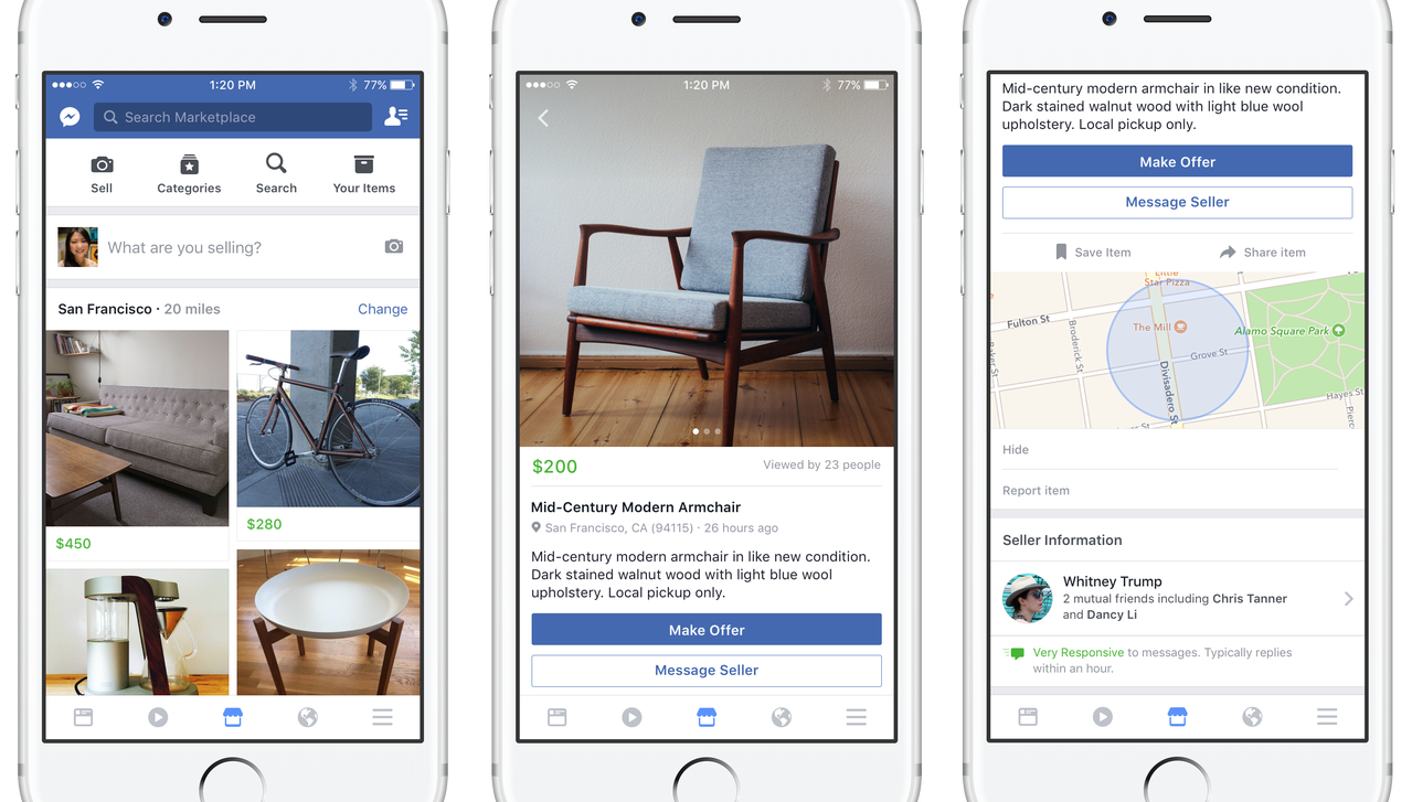 Facebook launches new app – Marketplace