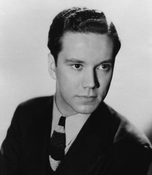 "The multi-voiced Bill Thompson, pictured here soon after he joined the cast of ""Fibber McGee and Molly""."