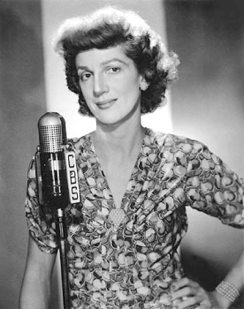 """Komedy Kingdom"" hostess Elvia Allman, shown here in the mid-1940s, would become a comedic staple on both radio and television for many decades to come."