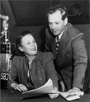 "By 1949, when they made a guest appearance on a CBS program, Jim and Marian Jordan had been the stars of ""Fibber McGee and Molly"" for almost fifteen years."