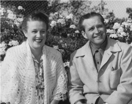 Marian and Jim Jordan, photographed in 1950