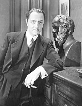 "William Powell as Philo Vance in ""The Kennel Murder Case"" (1933)"
