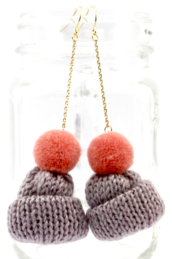 Beanie Earrings
