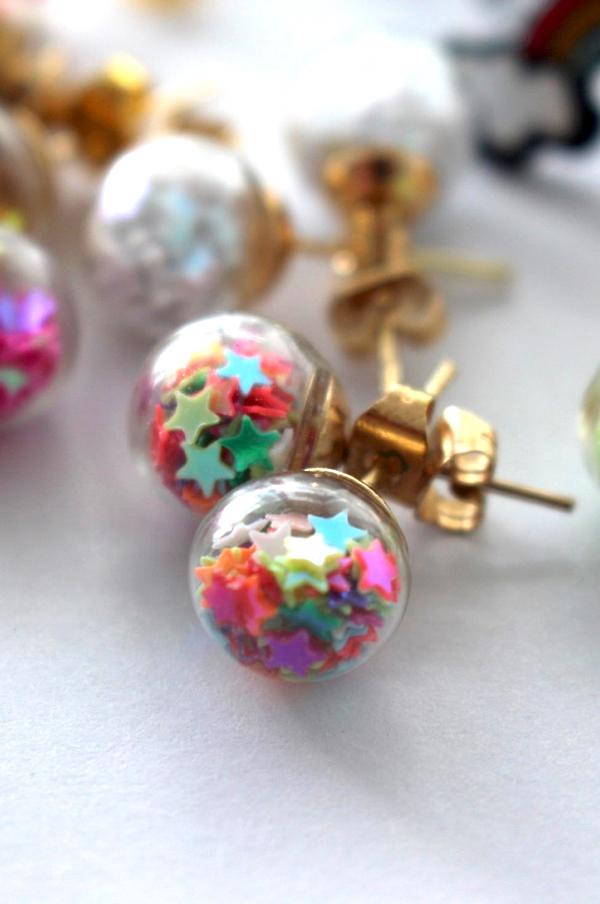 Star Confetti Baubles