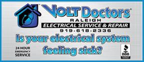 Website for Volt Doctors Raleigh LLC