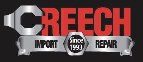 Website for Creech Import Repair, Inc