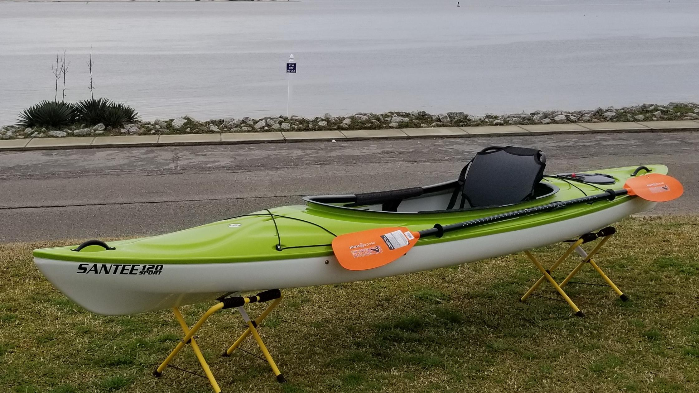 Win this Santee 120 Sport Kayak Support your NC Maritime Museum Southport