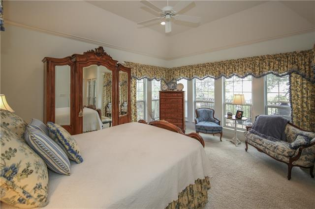Master Bedroom/Owner's Retreat with unbelievable eastern Blanco River views!