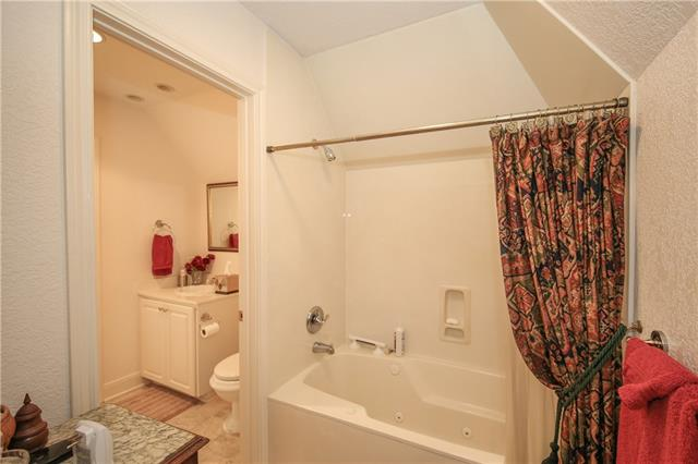 Another view of upstairs bathroom.