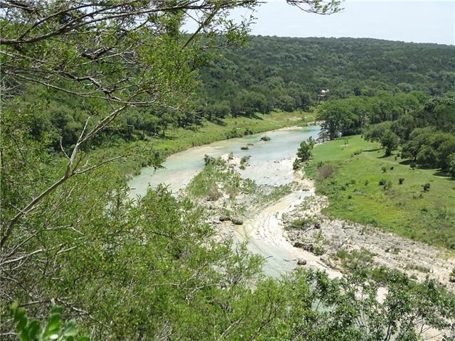 View from bluff above Blanco River