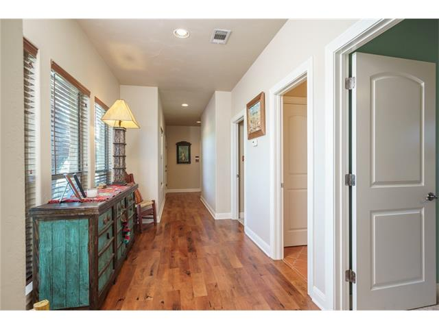 Gallery Hallway to bedrooms and Laundry Room - Mesquite Floors