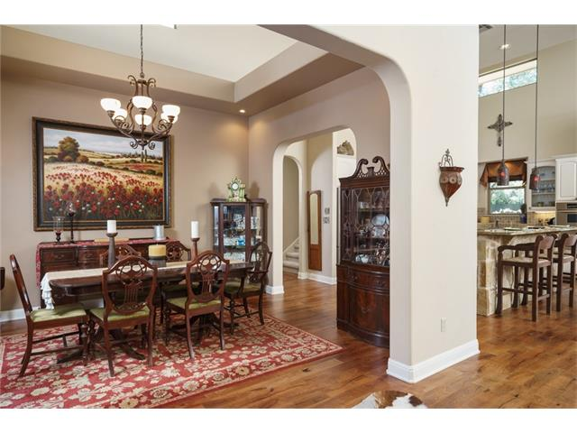 Formal Dining off Foyer open to kitchen