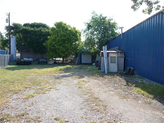 North side of Building shows additional acreage within .3099 acre Lot.