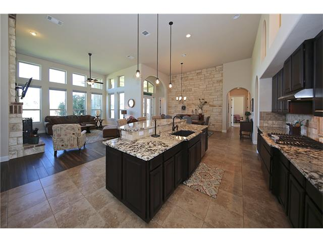 You will enjoy cooking and entertaining in this area.