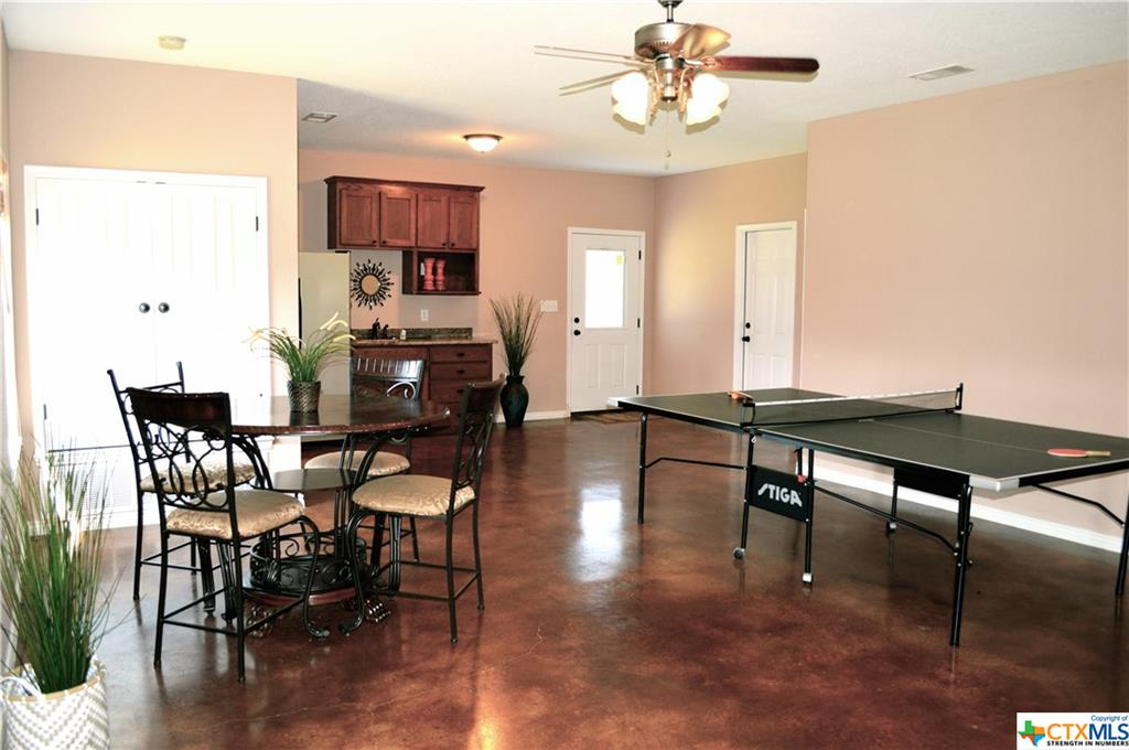 GUEST HOUSE DINING-KITCHEN- PING PONG TABLE CONVEYS