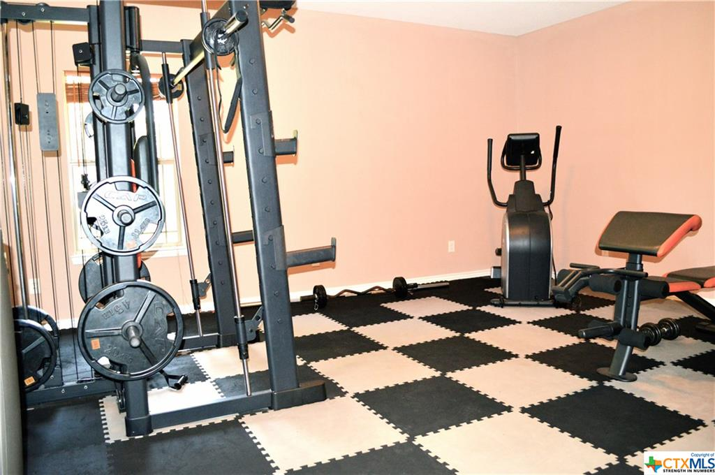 GUEST HOUSE BEDDROOM - OR - WORKOUT RM - GYM CONVEYS