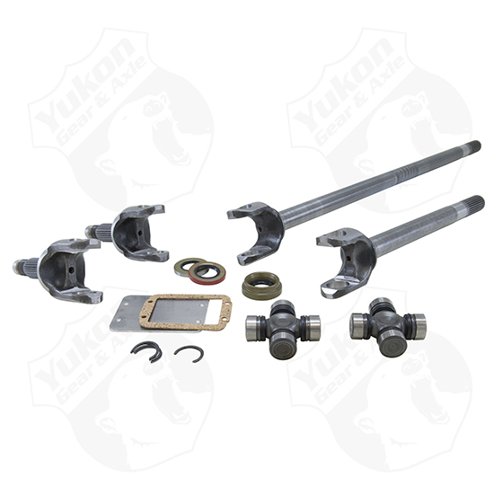 Yukon Dana 30 4340 Chrome-Moly Replacement Axle Kit - TJ