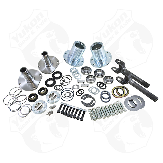 Yukon Dana 30/44 Spin Free Locking Hub Conversion Kit