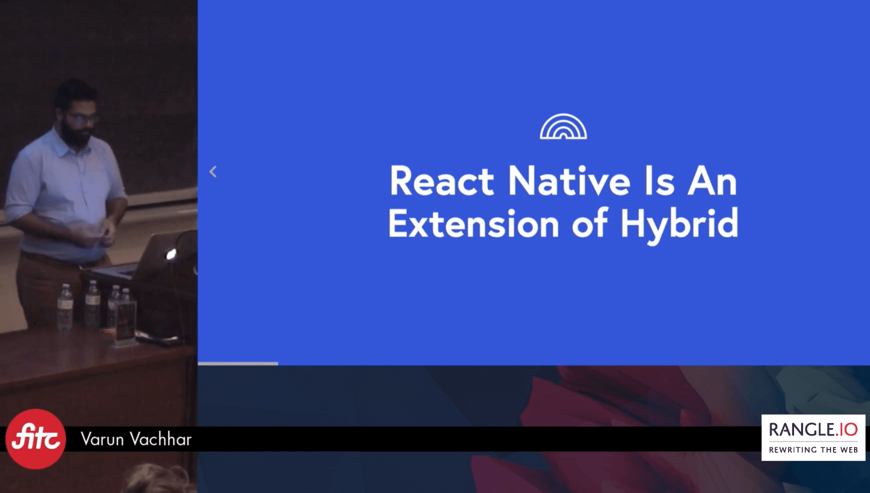 Varun Vachhar presents an Intro To React Native