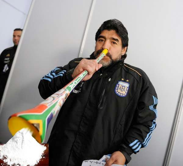 Argentinischer Fussballstar
