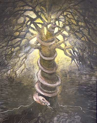 So eden sank to grief nothing gold can stay by robert frost - Who was the serpent in the garden of eden ...