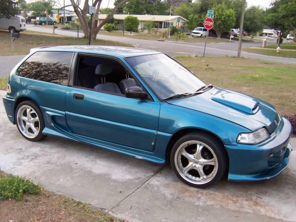 1988 honda civic hatchback like success for Honda civic 1988